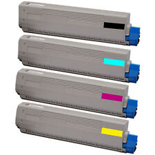4x Toner Cartridges Set for Oki C822 C822n C822nd 822 44844616 High Capacity