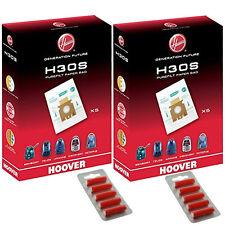10 X Hoover h30s PUREFILT SACCHETTI PER ASPIRAPOLVERE OCTOPUS originale h30 SUPER + Fresca