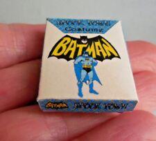 DOLLHOUSE MINIATURE ~ HALLOWEEN BATMAN COSTUME BOX