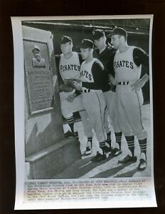 October 7 1960 Pittsburgh Pirates World Series 8 X 10 Wire Photo
