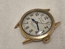 wristwatch BULOVA  23  j 10 k RGP stainless back TRANSPORTATION SPECIAL