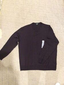 Mens Sweater By Giorgiolini Black Size XXL New