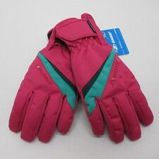 WaterProof Ziener Ladies Ski Gloves TOSIMA / 7.0 M Pink Black AquaShield Womans
