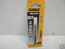 DEWALT EXTREME DT50007 5MM HSS-G IMPACT DRILL BIT HEX SHANK NEW TITANIUM VERSION