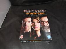 DVD Boxset Homeland The Complete Seasons 1-3 1 2 3 Claire Danes