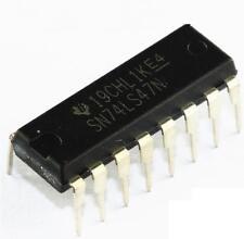 5PCS SN74LS47N 74LS47 SN74LS47 IC BCD-7 SEG DECODER/DRVR 16-DIP NEW