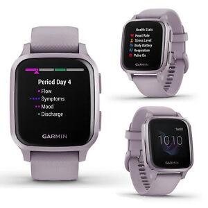 Garmin Venu SQ Lavender Purple Smart GPS Running Swimming Cycling Sports Watch