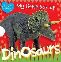 My Little Box of Dinosaurs Pocket Library 6 Children Books Collection Pack Set