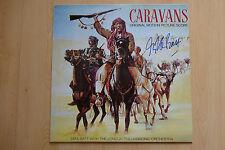 """CARAVANE """"MIKE BATT"""" autographe signed LP-Cover """"Bande Originale"""" Vinyle"""