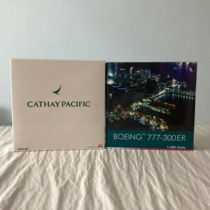 1:400 Cathay Pacific Airways (2) Diecast Models