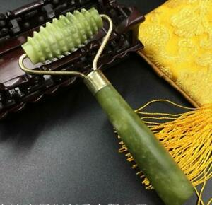 Jade Roller Massage Natural Stone Facial Eye Body Anti Ageing Beauty Tool