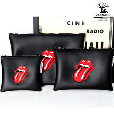 Make-up Pouch Pencil Case pouch bag The Rolling Stones  -3 bag- S,M,L