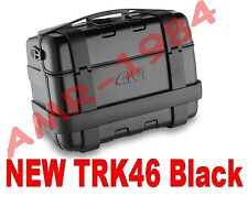 GIVI BAULETTO VALIGIA TREKKER TRK46 BLACK  TRK46N TRK46B  BAULE 46 Litri NERO