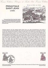Document Philatélique Timbre 1er Jour : 30/05/ 1981 - Primatiale Saint Jean Lyon