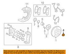 TOYOTA OEM-Axle Nut 9008017238