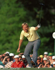 1986 JACK NICKLAUS MASTERS CHAMPION 8x10 GLOSSY PHOTO