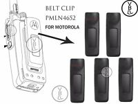 5x Long Belt Clip for Motorola XPR6350 XPR6380 XPR6550 XPR6580 Portable Radio