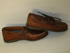G.H Bass Hampton Core 2 Boat Deck Shoes Size 7.5M Caramel Leather Shoes