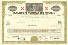 Ralston Purina Company > 1,000 bond certificate 1976 share Nestle Mills