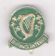 IRISH  VOLUNTEERS BADGE Harp and Shamrocks 1914 -1921