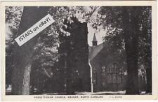 c. 1938 GRAHAM, NC, PRESBYTERIAN CHURCH POSTCARD