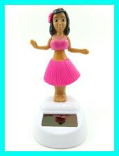 Solar Powered Dancing Hula Girl Flip Flap Swing Dancer Novelty Bobblehead Toy