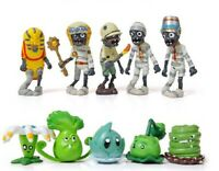 Plants vs Zombies 10 pcs Toy Figures Egypt Mummy Set for Cake Toppers Party Gift