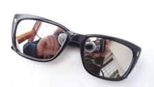 Gafas de sol de hombre negra rectangular sin marca
