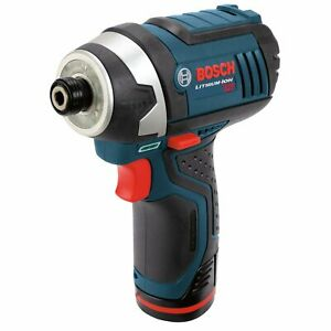 Bosch PS41-2A 12-Volt 1/4-Inch Max Lithium-Ion Fuel Guage Impact Driver Kit