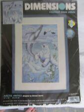 Dimensions 35001 Arctic Antics Counted Cross Stitch Kit Rare 1999  Unopened