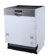 Geschirrspüler Einbau Spülmaschine teilintegriert 60 cm Aquastop respekta A++