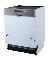 Geschirrspüler Einbau Spülmaschine teilintegriert 60 cm Aquastop respekta