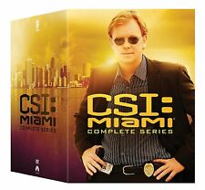 CSI: Miami: Complete TV Series Seasons 1 2 3 4 5 6 7 8 9 10 Boxed DVD Set NEW!