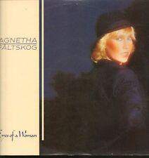 Agnetha Faltskog(Vinyl LP)Eyes Of A Woman-Polar-POLS 385-Sweden-1985-VG/VG+