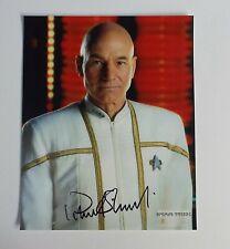 Star Trek The Next Generation Patrick Stewart Signed / Autograph Photo