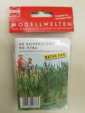 Busch 9786 HO Cattails # NEW ORIGINAL PACKAGING #