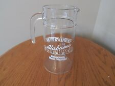 Southern Comfort Alabama Slammer America's Most Wanted Glass Pitcher