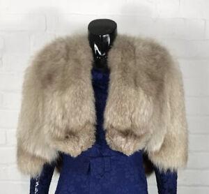 Vintage ginger fox fur coat  maxi fox fur coat  chocolate brown fox fur coat