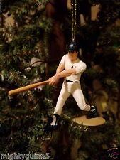 Kevin Maas New York Yankees NY MLB Baseball Christmas Tree Ornament White Jersey