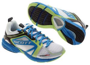 Scott MK III Women's Running Shoes White/Electric Blue 37.5 / 6.5 NEW NOS MK3