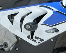 BMW HP4 2012 onwards R&G Racing Aero No-Cut Crash Protectors CP0308WH White