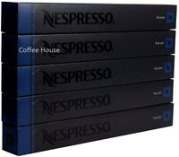 50 New original Nespresso Kazaar flavour coffee Capsules Pods UK