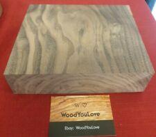 🍁 Hardwood Walnut Off Cut Block L 15.9 cm x W 19.3 cm x D 5 cm  (2117 W8)