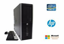 HP Elite 8200 SFF Desktop PC Intel Quad Core i5 3.1GHz 8GB RAM 160GB HD No OS