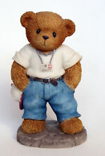 "Cherished Teddies - Giacomo - ""Jake"" Bearcino - NEU - 2001 Membears´Only Figurin"
