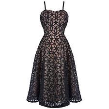 Hell Bunny Dress/ Bev 50's style/ Black/ Size XL - 657