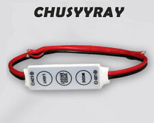 AU 12V Mini LED Strip Light Dimmer Controller with On Off Switch for 3528 5050