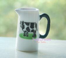 1:6 Scale Dollhouse Tableware Porcelain Ceramic Water Milk Jug Kettle Cup DC098