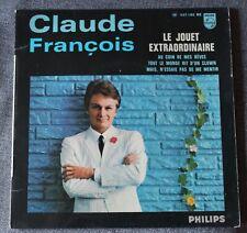 Claude François, le jouet extraordinaire + 3, EP - 45 tours  imprimerie Colombet