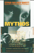 "STEPHAN-MAX WIRTH Quartett ""Mythos"" CD 1997 Moritat von Mackie Messer"